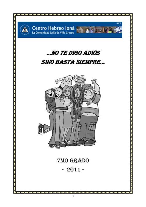 7mo g No te digo adiós sino hasta siempre- Antología de cuentos