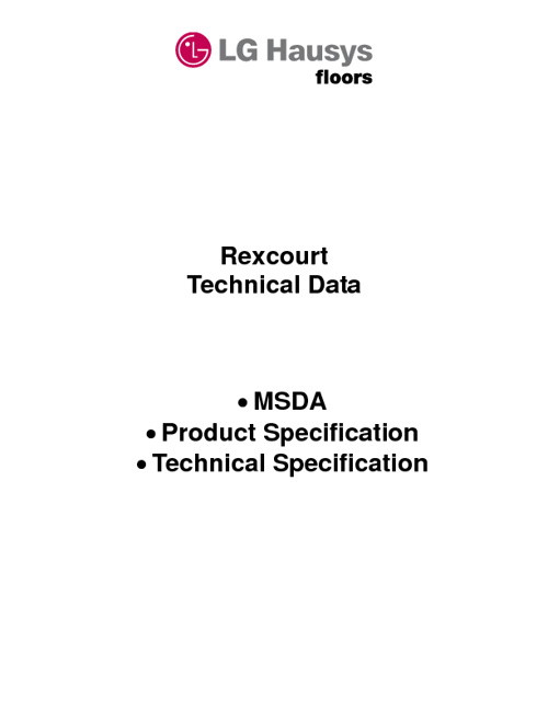 Rexcourt Technical Data