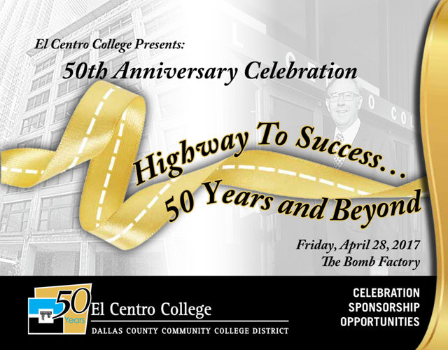 El Centro College 50th Gala Sponsorship Info