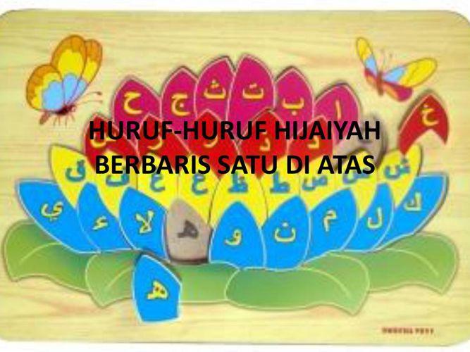 HURUF-HURUF HIJAIYAH BERBARIS SATU DI ATAS [Autosaved]