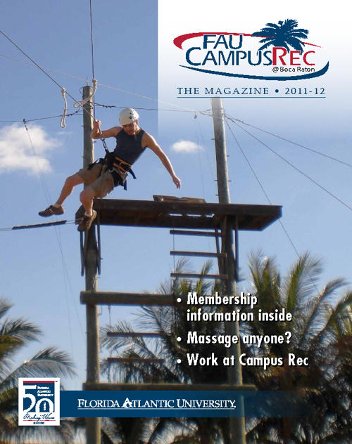 2011-12 Campus Recreation Annual Magazine