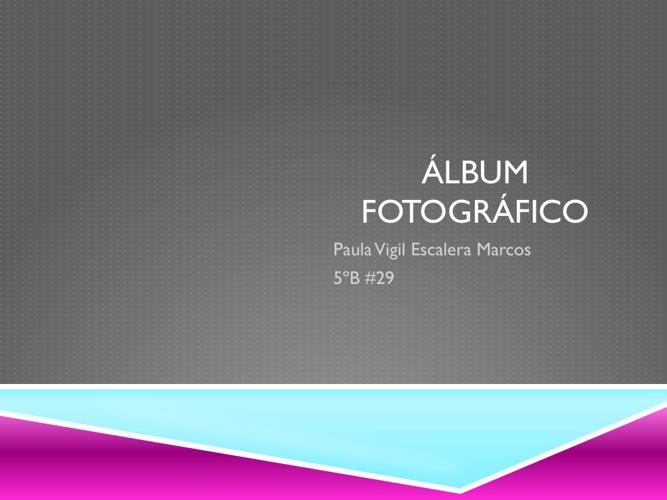 ALBUM FOTOGRAFICO