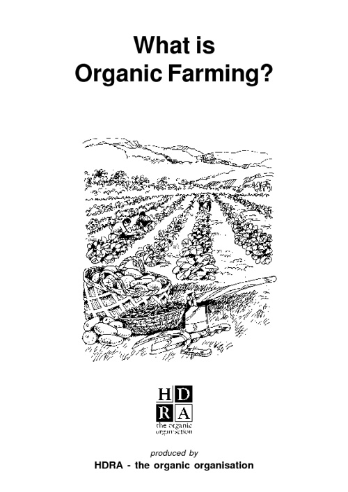 What is organic farming?