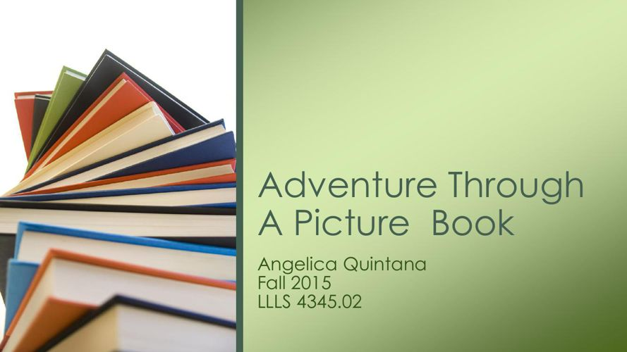 Adventure Through A Picture  Book