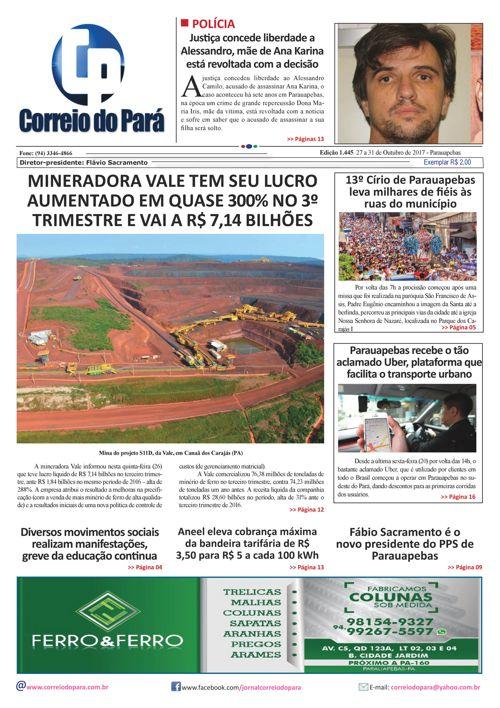 EDIÇÃO 1445 27 A 21 DE OUTUBRO DE 2017