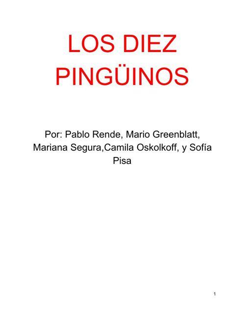 5-8 Pingüinos