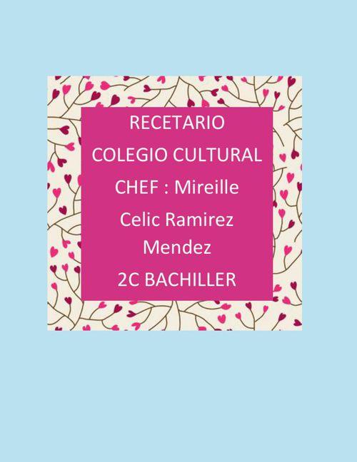 recetario celic