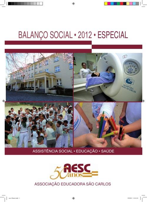 Balanço Social AESC 2012