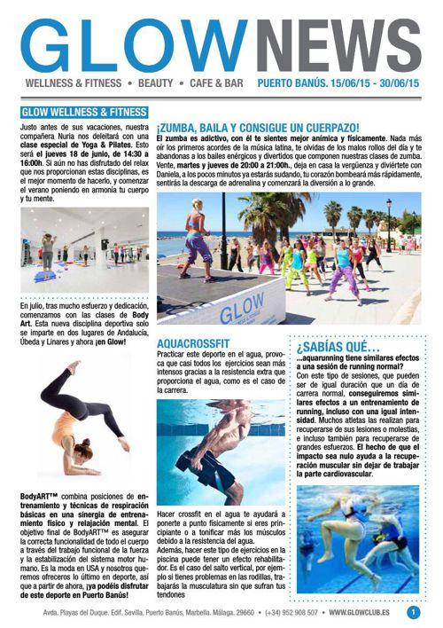 Revista Glow Marbella 15/06 al 30/06