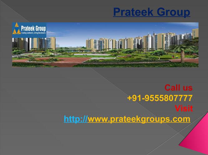 Prateek Group Well Reputed Builder
