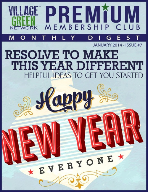 VGN Premium Membership Club Monthly Digest - January 2014