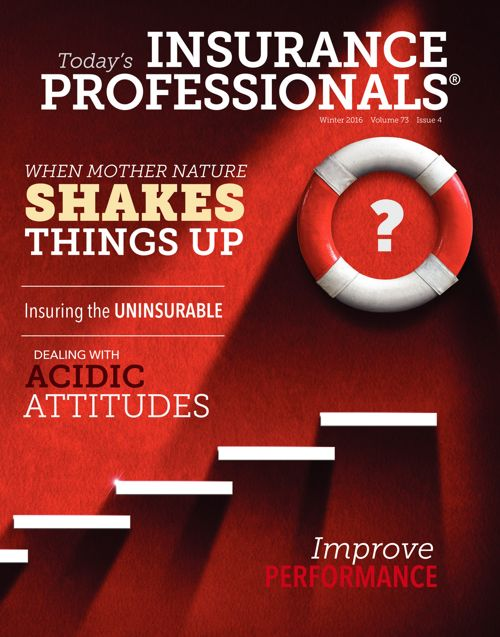 IAIP's Winter 2016 issue of Today's Insurance Professionals