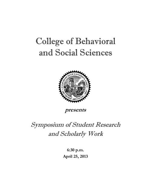 2013 Symposium Program