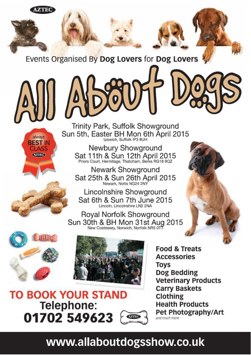all about dogs brochure
