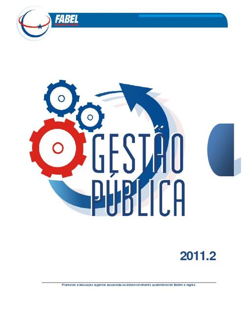 Horário Gestão Pública 2011.2