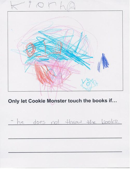 K1 Cookie Monster Book