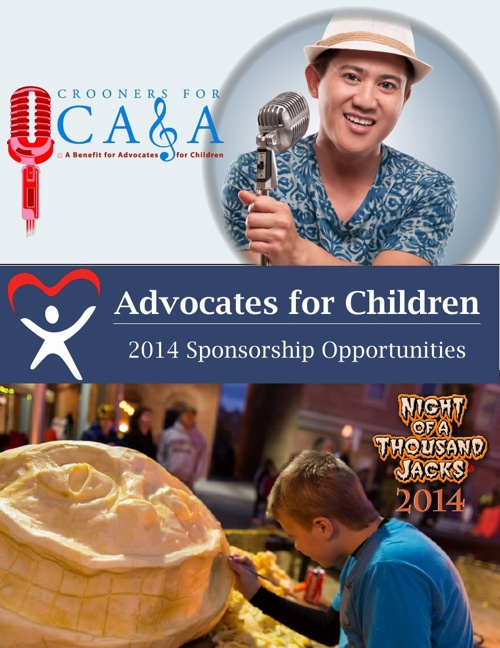 Advocates for Children - 2014 Event Sponsorship Opportunities