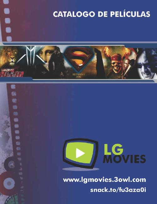 Catalogo de Peliculas - LG Movies