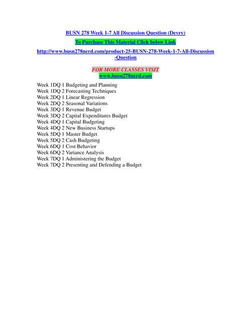 BUSN 278 NERD Inspiring Minds/busn278nerd.com