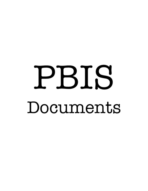 Copy of PBiS Documents