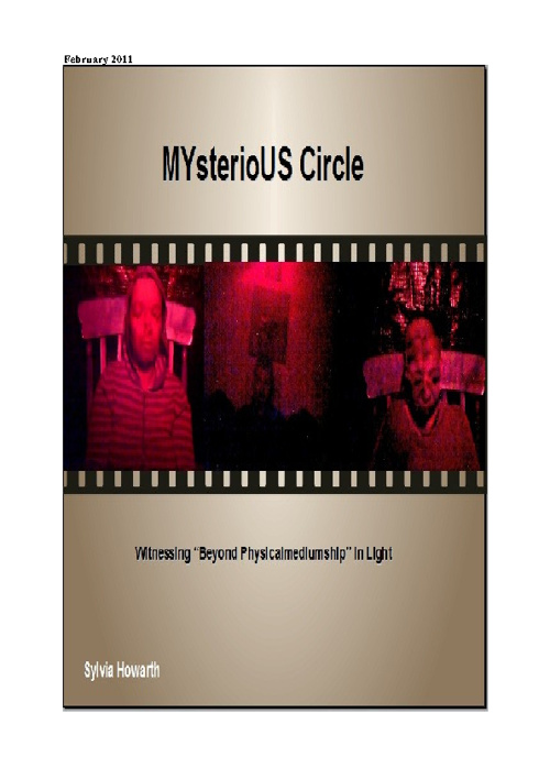 MYsterioUS Circle Feb 2011 Flip Book