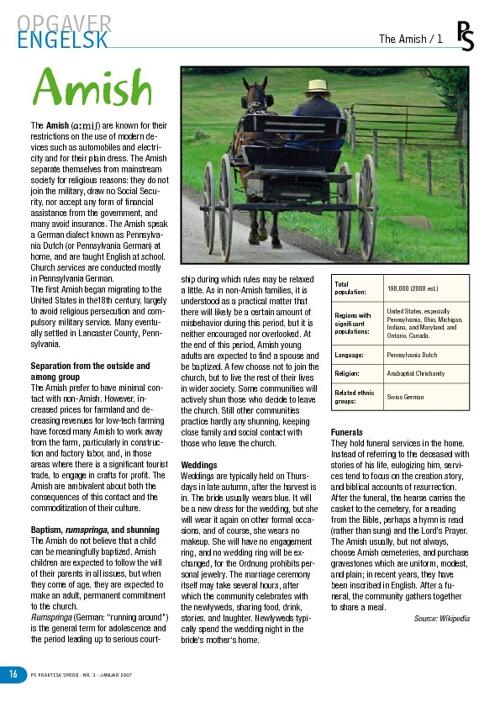 Amish history 2