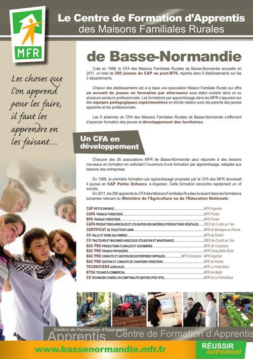 CFA des MFR de Basse-Normandie