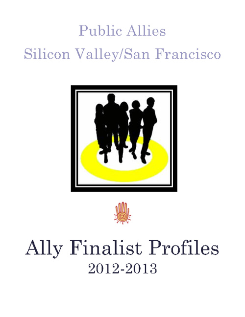 Ally Finalists Profiles 2012-2013