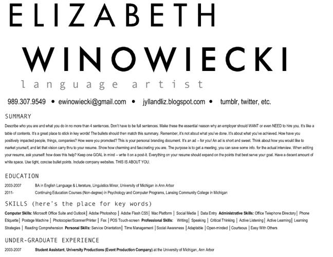 Liz's Practice Flip Book