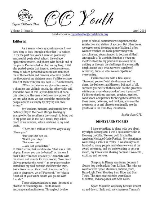 2014 CCY 4-22 Volume 21-3