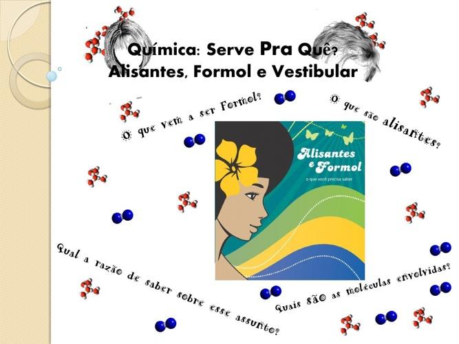 Prof° Zampinha - Alisantes, Formol e Vestibular.