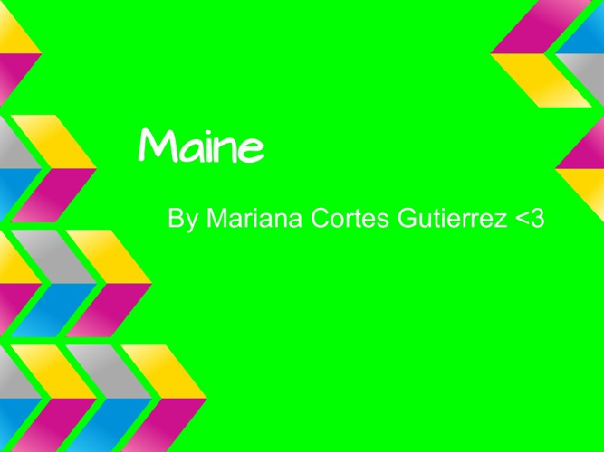 Amazing Maine By Mariana <3