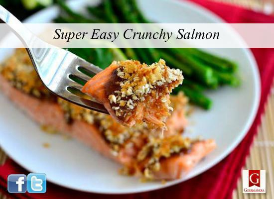 Super Easy Crunch Salmon