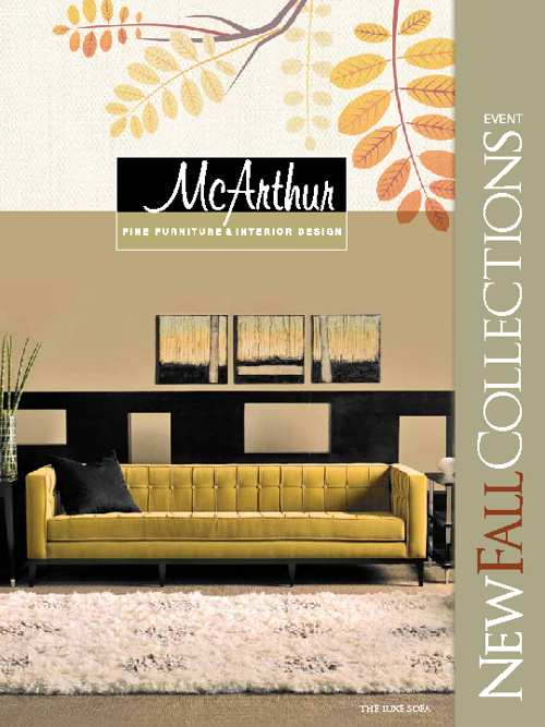 McArthur Furniture - Fall Collections