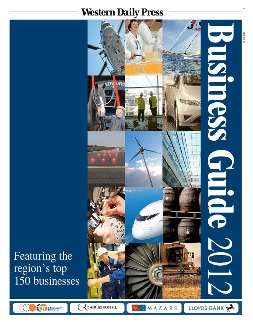 Business Guide 2012 | Western Daily Press - sample