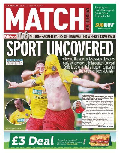 Match issue 3, season 2017/18