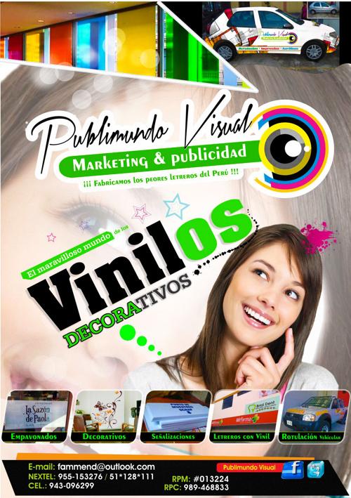 1 catalogo VINILES DECORATIVOS  publimundo visual