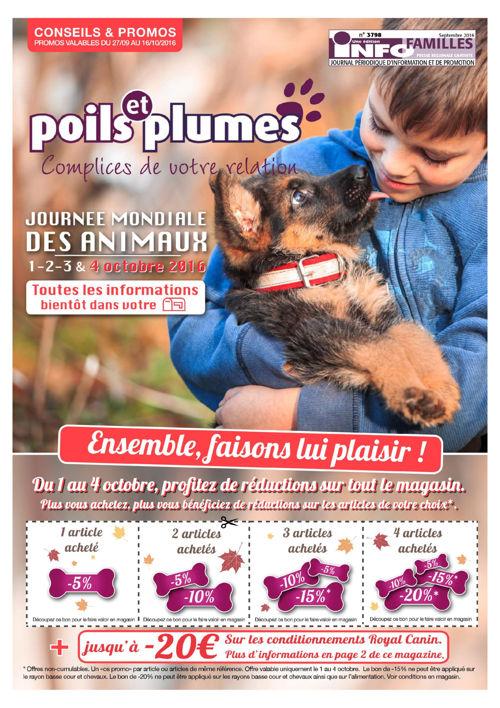 Poils & Plumes - Septembre 2016