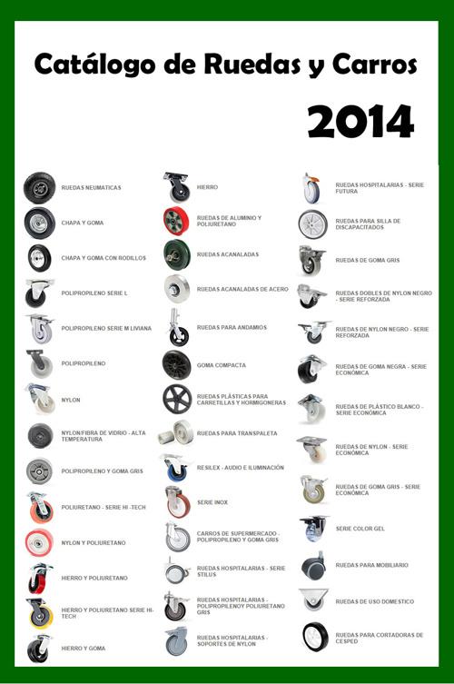 Catálogo de ruedas