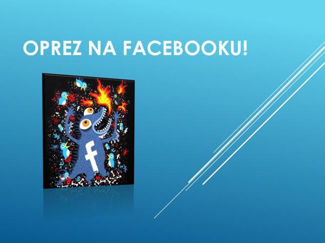 Oprez na facebooku