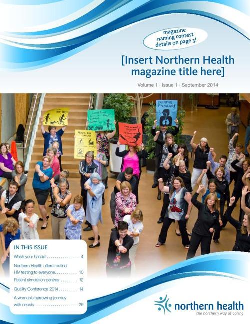 [Insert Northern Health Magazine Title Here]