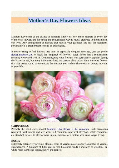 Mother's Day Flowers Ideas