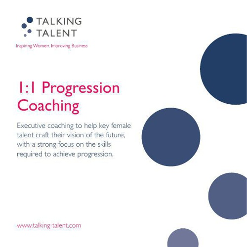 121 Progression Coaching New Details 2014