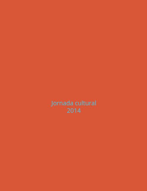 Jornada cultural 2014
