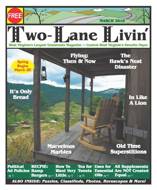 Two Lane Livin Magazine - March 2016