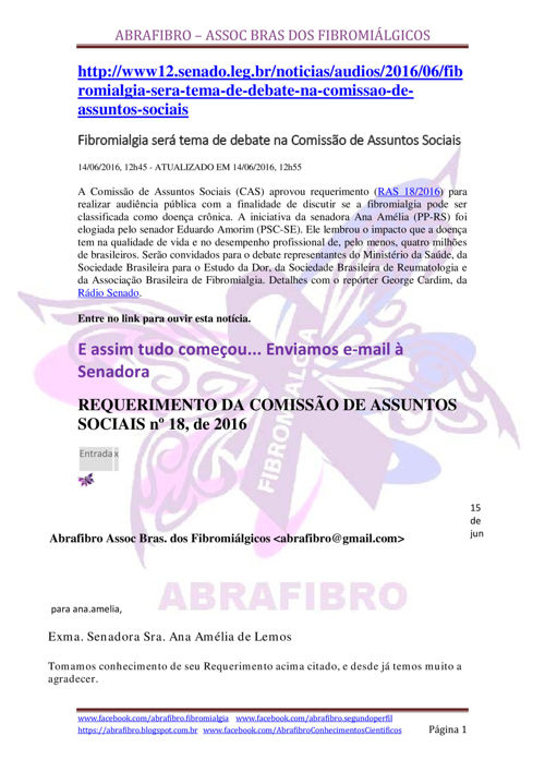 ABRAFIBRO EM BRASÍLIA