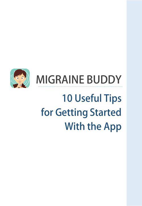 Migraine Buddy Tips