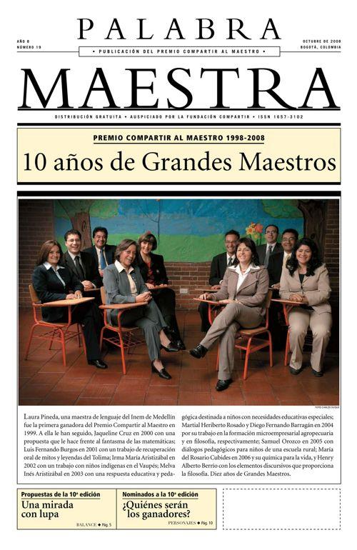 Palabra Maestra, Edición 19