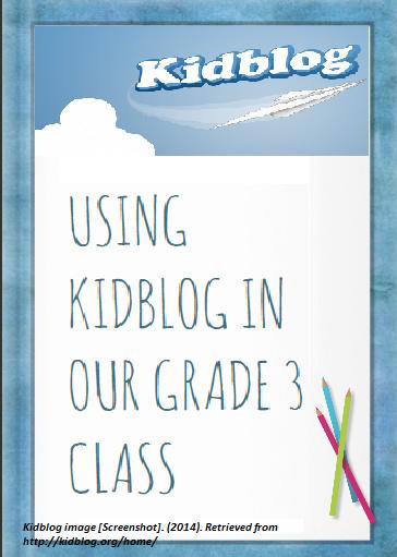 Communication skills with kidblog