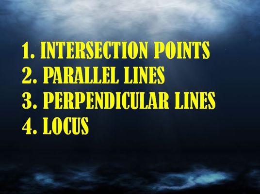 TITLE PARALLEL LINES